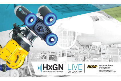 HEXAGON HXGN LIVE LOGO