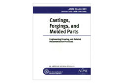 Castings, forgings, molded parts